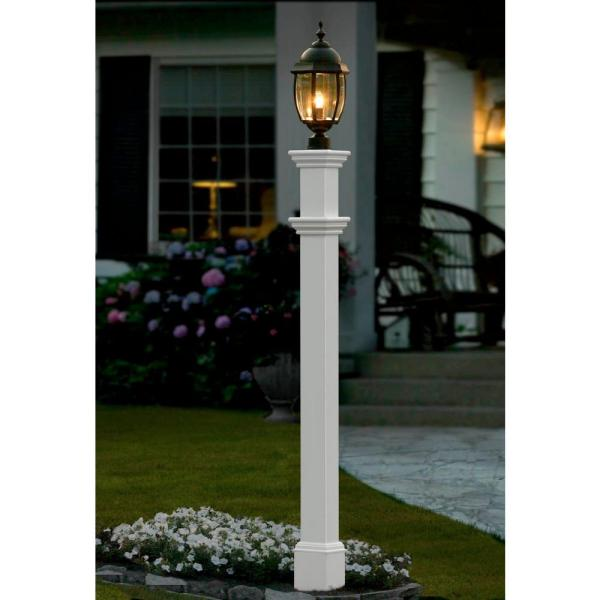 4 Add Solar Lighting Don T Have A Lamp Post Light No Problem You Can Install This Great Find From Gama Sonic It S Ed Led That