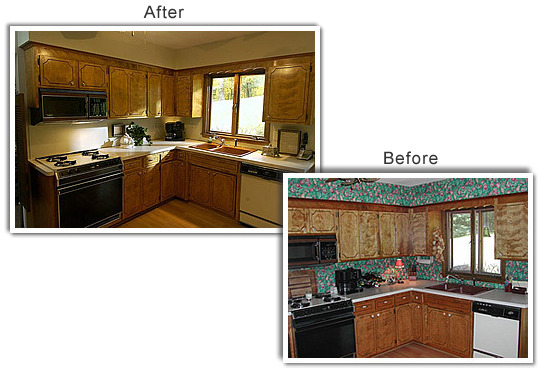 Home staging photo gallery for Home staging before and after