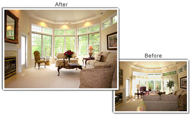 Home Staging of a home in Minnetonka, MN