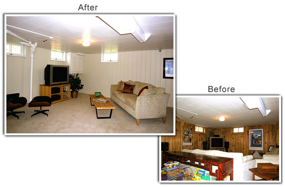 Home Staging of a home in St. Paul, MN
